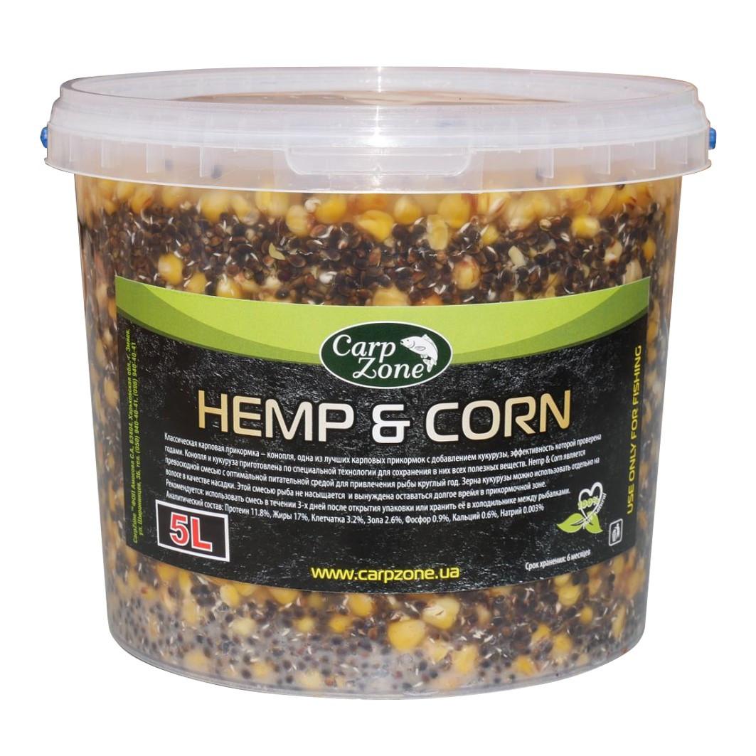 Готова коноплі і кукурудза Hemp & Corn 5L