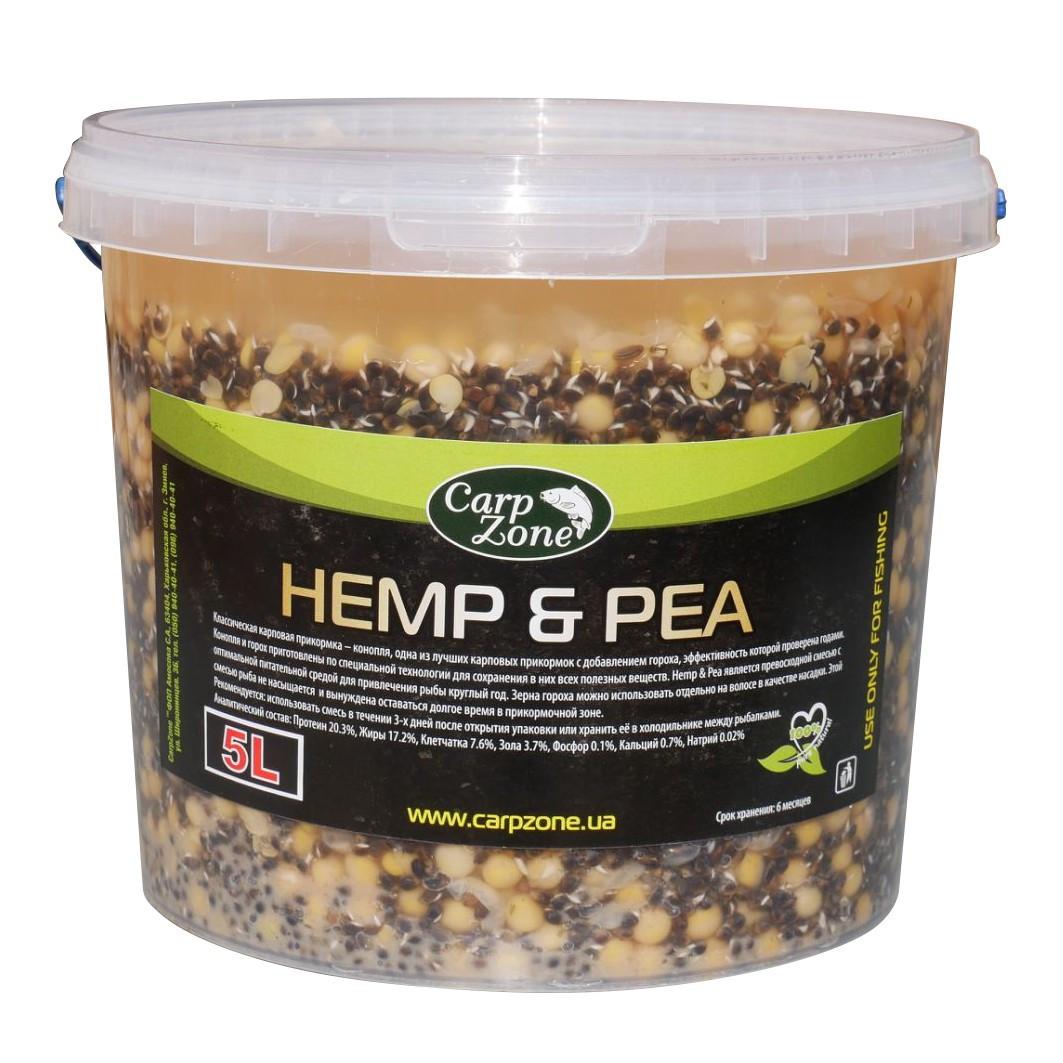 Готова коноплі та горох Hemp & Pea 5L