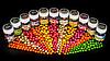 Бойли насадкові порошать Boilies Method & Feeder series Soluble Fruit Mix (Фруктовий мікс) 10mm/60pc, фото 7