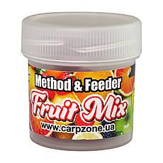 Бойлы насадочные пылящие Boilies Method & Feeder series Soluble Fruit Mix (Фруктовый микс) 10mm/15pc