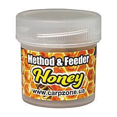 Бойлы насадочные пылящие Boilies Method & Feeder series Soluble Honey (Мед) 10mm/15pc