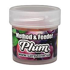 Бойлы насадочные пылящие Boilies Method & Feeder series Soluble Plum (Слива) 10mm/15pc