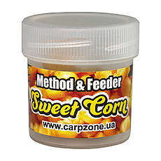 Бойлы насадочные пылящие Boilies Method & Feeder series Soluble Sweet Corn (Сахарная Кукуруза) 10mm/15pc