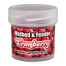 Бойлы насадочные пылящие Boilies Method & Feeder series Soluble Сranberry (Клюква) 10mm/15pc