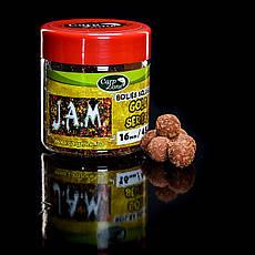 Бойлы насадочные пылящие Boilies Gold series Soluble Hookbaits J.A.M. 16mm / 45pc