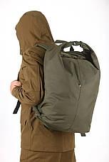 Тактическая транспортная сумка-баул мешок армейский Trend олива  на 45 л с Oxford 600 Flat, фото 2