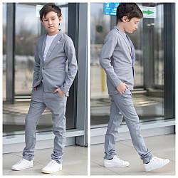 Костюм в школу для мальчика двойка классика пиджак+брюки.