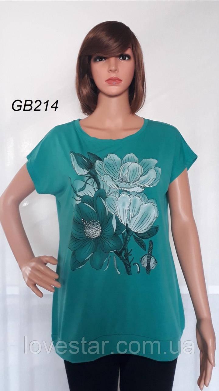 Жіноча футболка 3XL-6XL