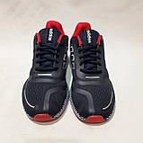 Чоловічі кросівки літні текстиль, сітка в стилі Adibass Адідас літні кросівки, фото 5