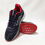 Чоловічі кросівки літні текстиль, сітка в стилі Adibass Адідас літні кросівки, фото 4