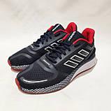 Чоловічі кросівки літні текстиль, сітка в стилі Adibass Адідас літні кросівки, фото 2