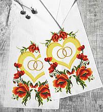 Свадебный рушник №025