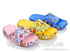 Детская коллекция летней обуви оптом.  Детские шлепки 2021 бренда Elmob (рр. с 26 по 30)