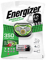 Налобний ліхтар Energizer Vision HD+Focus Headlight HDC323 (350 Lumens, IPX4, 7 режимів)