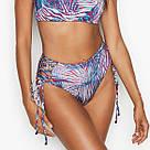 Купальник Бандо Victoria's Secret Плавки з високою талією р. 32В (70В) / S, Синій, фото 2