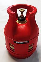 Полимерно-композитный газовый баллон 12.5  литра с предохранительным клапаном COVAGNA Италия илиSAFEGAS.