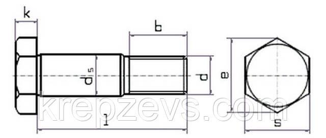 Болт М20 DIN 610  | Фотографии принадлежат предприятию ЗЕВС®