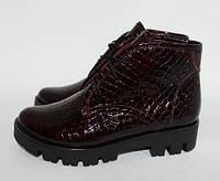 Хит сезона!!! Женские кожаные  ботинки , фото 1