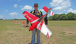 Самолёт радиоуправляемый Precision Aerobatics XR-52 1321мм KIT (красный), фото 6