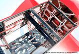 Самолёт радиоуправляемый Precision Aerobatics XR-52 1321мм KIT (красный), фото 8