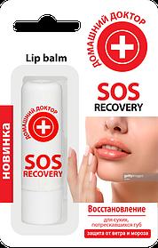 Бальзам для губ Домашній доктор SOS-recovery 3,6 г