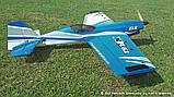 Самолёт радиоуправляемый Precision Aerobatics XR-61 1550мм KIT (синий), фото 2