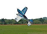 Самолёт радиоуправляемый Precision Aerobatics XR-61 1550мм KIT (синий), фото 3