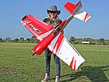 Самолёт радиоуправляемый Precision Aerobatics XR-61 1550мм KIT (синий), фото 5