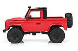 Машинка на радіокеруванні 1:12 MN Model Краулер D90 Defender повнопривідний (червоний), фото 2