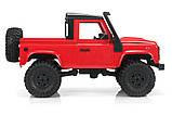 Машинка на радіокеруванні 1:12 MN Model Краулер D90 Defender повнопривідний (червоний), фото 6