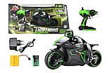 Радіокерований Мотоцикл 1:12 Crazon 333-MT01 (зелений), фото 8