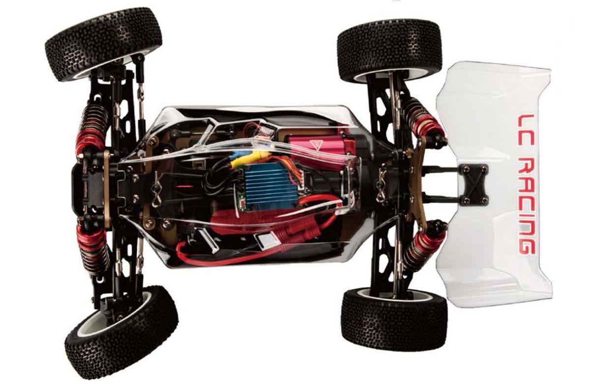 Набір для складання радіокерованої моделі Баггі 1:14 LC Racing 1H (KIT PRO)