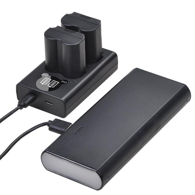 lcd-usb-c charger for np-w235 применение