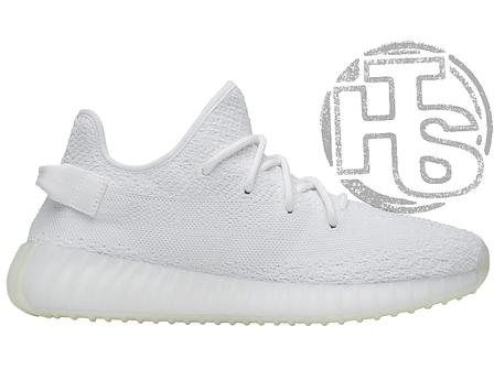 Мужские кроссовки Adidas Yeezy Boost 350 V2 Triple White, фото 2
