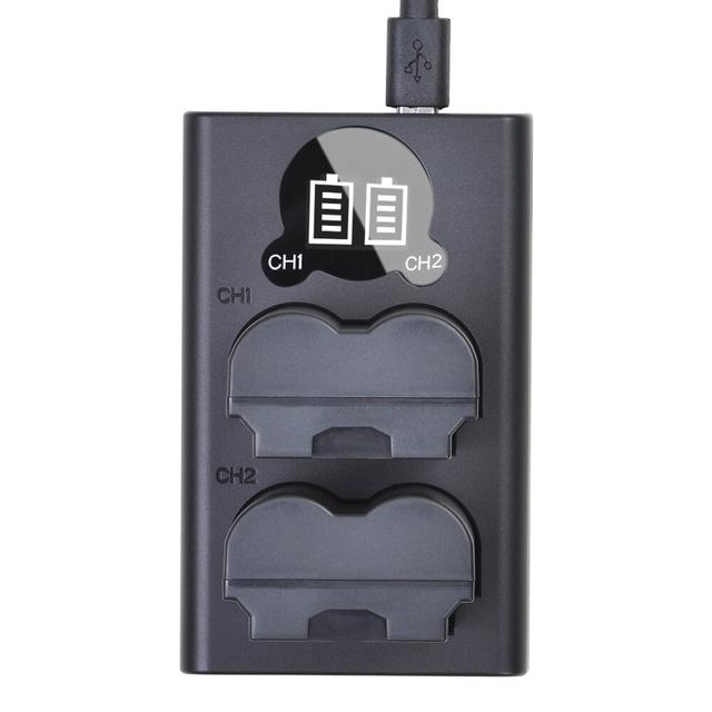 lcd-usb-c charger for np-w235 зарядка