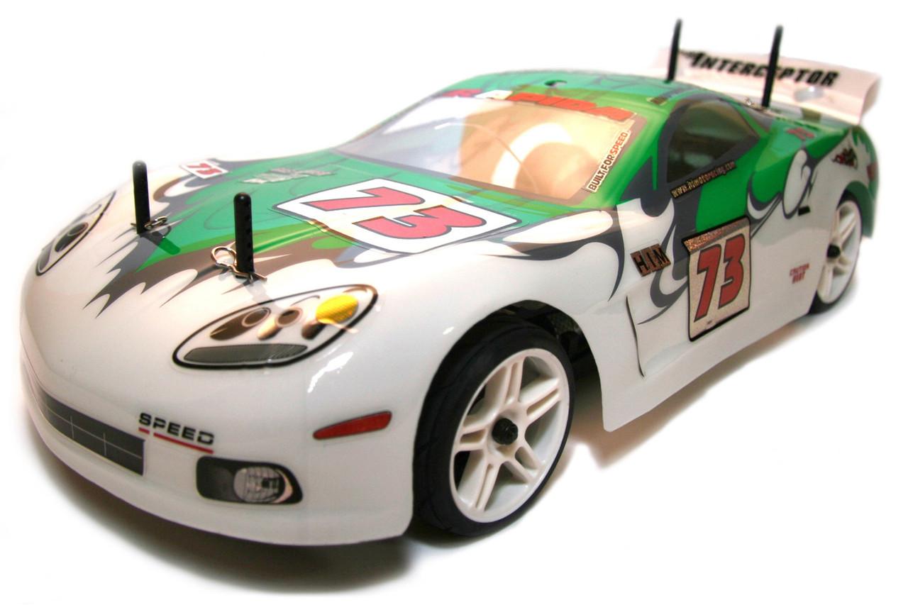 Радіокерована модель Шосейна 1:10 Himoto NASCADA HI5101 Brushed (зелений)