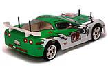 Радіокерована модель Шосейна 1:10 Himoto NASCADA HI5101 Brushed (зелений), фото 4