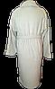 Банный женский махровый халат, р-р Л 52-54 Турция Хлопок светло серого цвета, фото 3