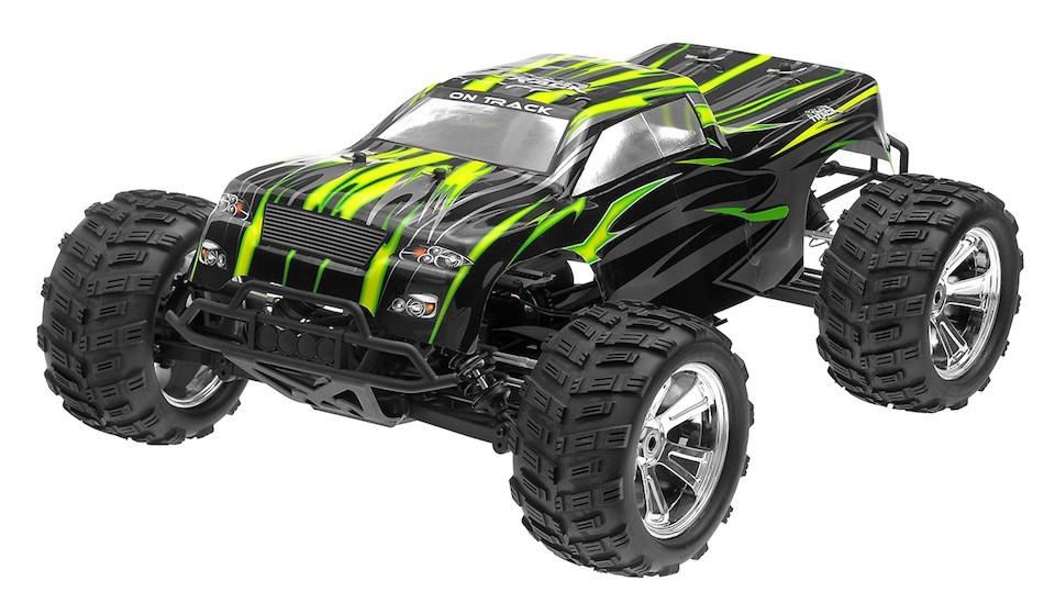 Радіокерована модель Монстр 1:8 Himoto Raider MegaE8MTL Brushless (зелений)