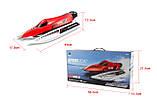 Катер на радіокеруванні WL Toys WL915 F1 High Speed Boat безколекторний (червоний), фото 2