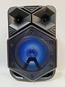 Портативна Бездротова Bluetooth колонка+світломузика,мікрофон,пульт Model BT-1778