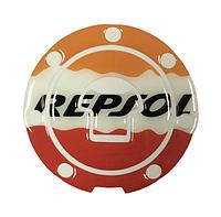 Наклейка на кришку бака Honda Repsol