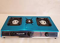 Газовая плита таганок на 3 конфорки Vilgrand VGP 1014