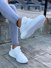 Жіночі кросівки Adidas Yeezy Boost 350 V2 Triple White, фото 3