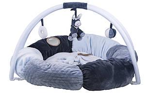 Nattou Коврик развивающий с дугами и подушками Алекс и Биба