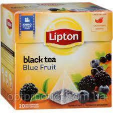 """Чай """"Lipton"""" пірамідка синя ягода 20 пакетів"""