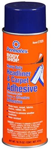 Высокопрочный аэрозольный клей для тяжелой обивки салона, ковровых и шумоизоляционных покрытий «Боди Шоп»