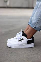 AF1 White black Кроссовки | кеды | обувь | тапки
