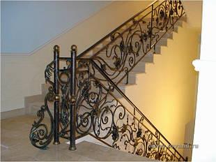 Ковані сходи і поручні