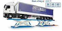 Ножничные спаренные подъемники OMCN Art 906/907/902/908/916/917/912/918 для грузовых автомобилей